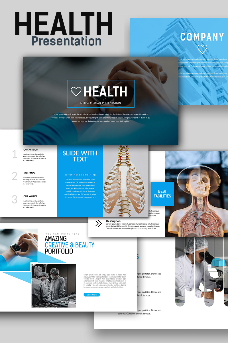 Health medical powerpoint template 66295 health medical powerpoint template big screenshot toneelgroepblik Images