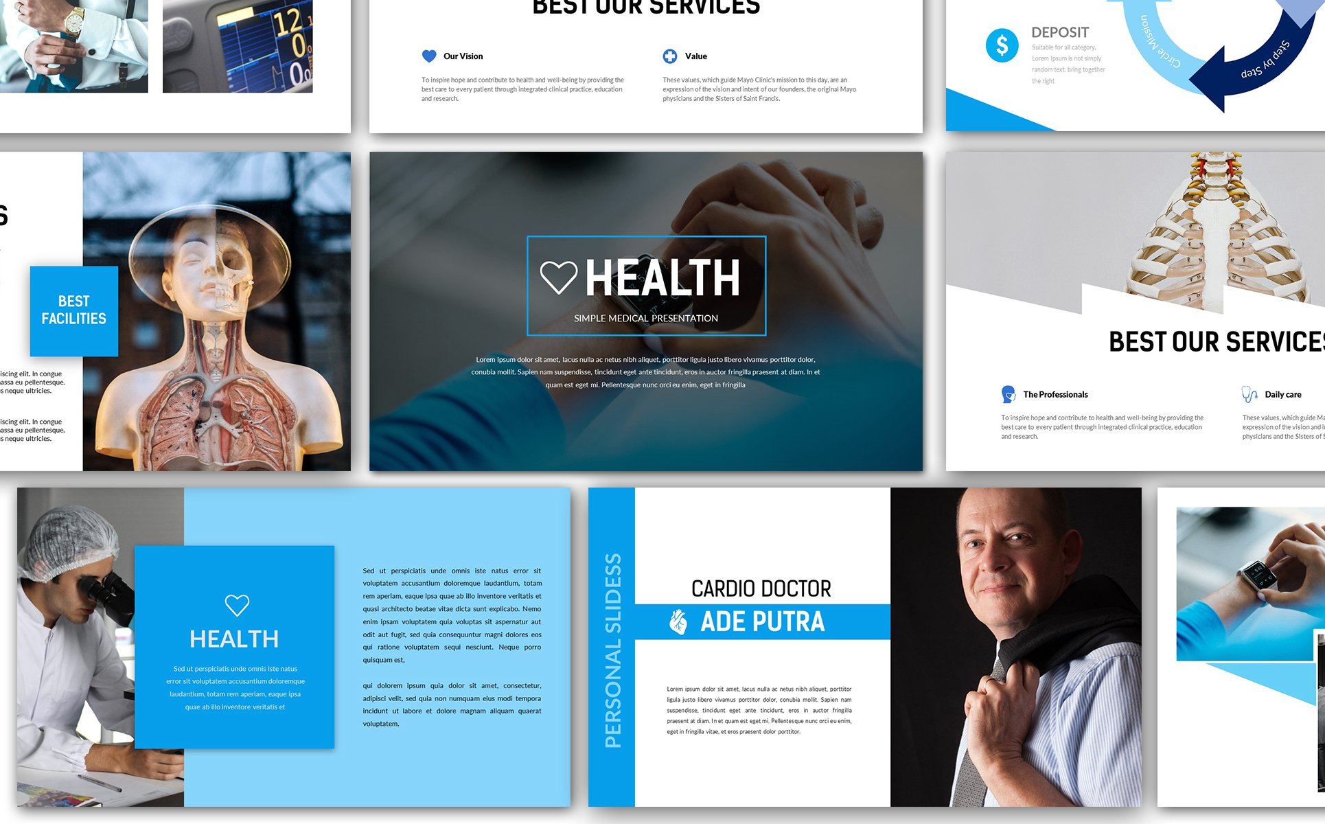 Health medical powerpoint template 66295 health medical powerpoint template big screenshot toneelgroepblik Gallery
