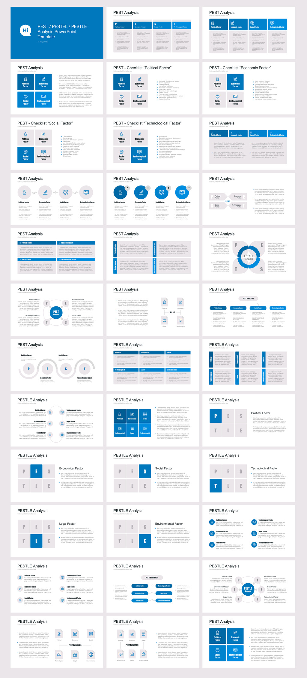 Pest pestel pestle for powerpoint template 67640 vendor support options toneelgroepblik Image collections