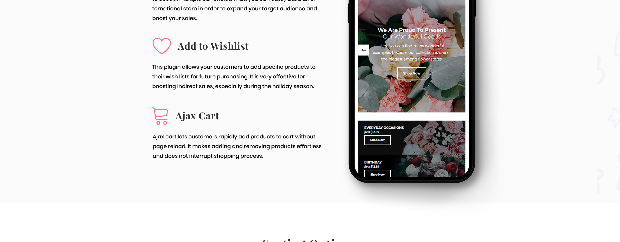 Flower Shop Responsive OpenCart Template
