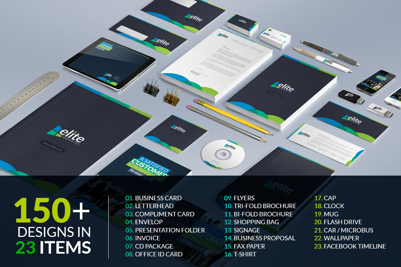 business branding bundle corporate identity template  66478