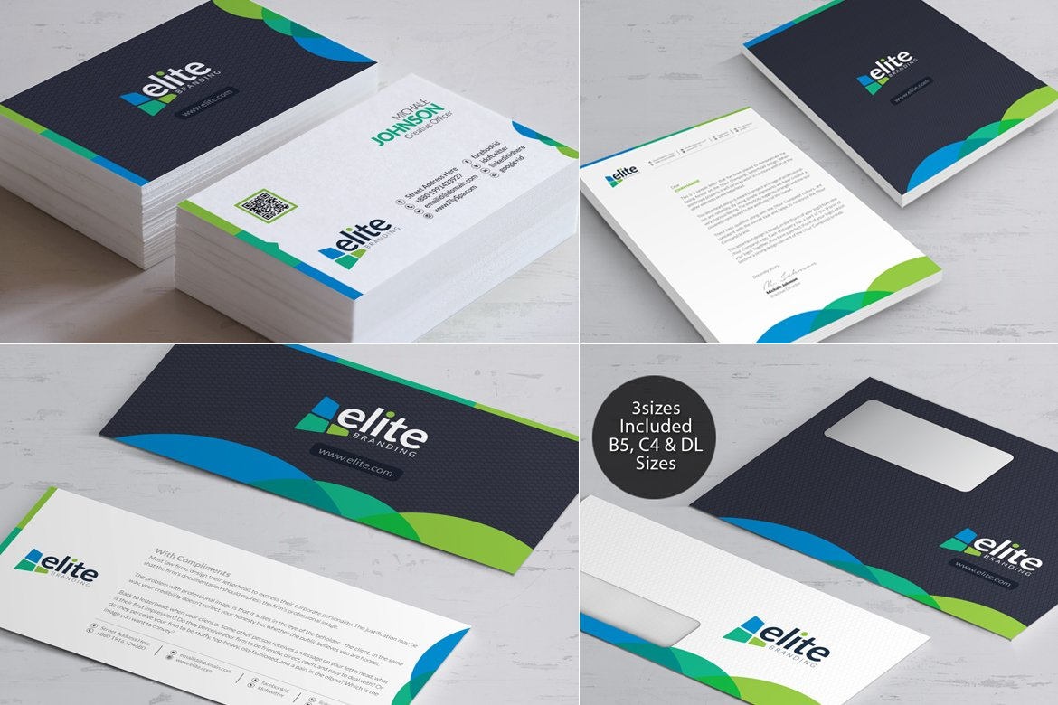business branding bundle corporate identity template 66478
