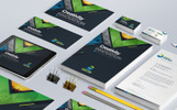 Business Mega Branding Stationery Identity Template Bundle