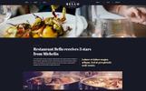 Bello restaurant PSD Template