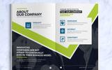 Business Brochure Design Template | InDesign Brochure | Company Profile | Annual Report 2018 Corporate Identity Template