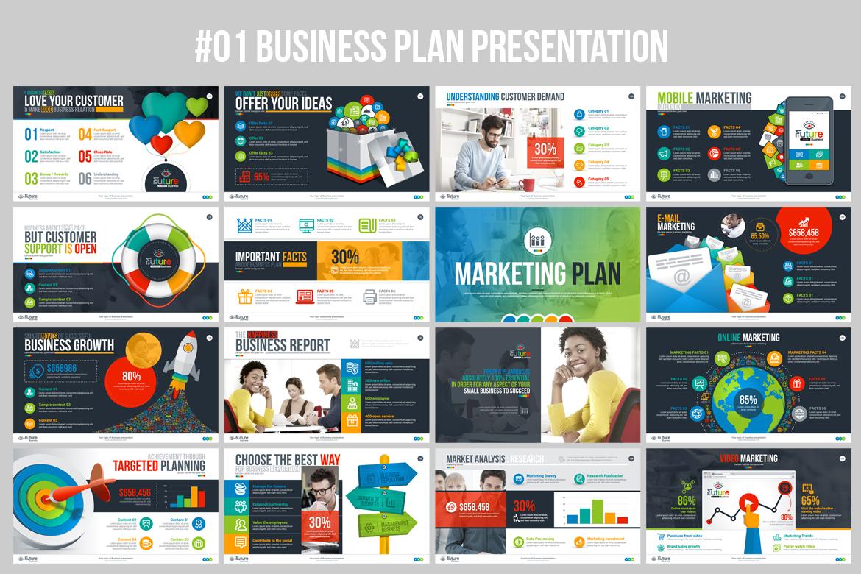business plan presentation keynote template 67445