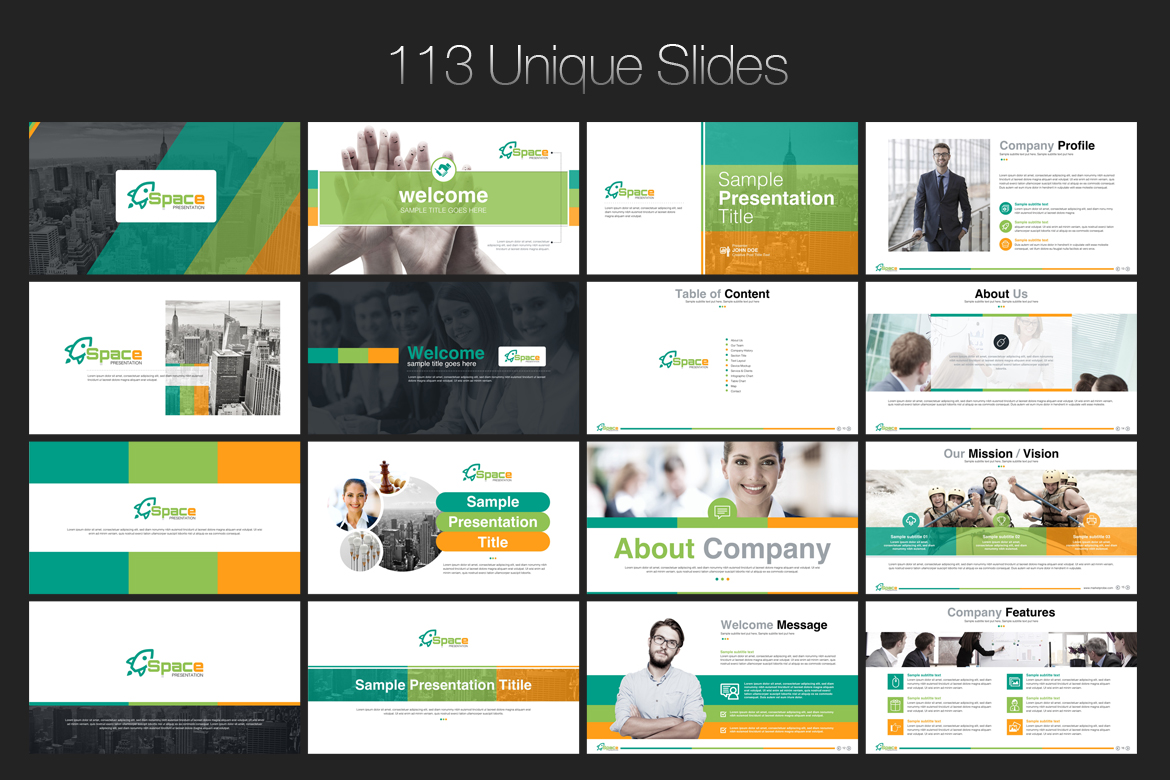 Startup business presentation powerpoint template 67446 startup business presentation powerpoint template big screenshot zoom in live demo friedricerecipe Images