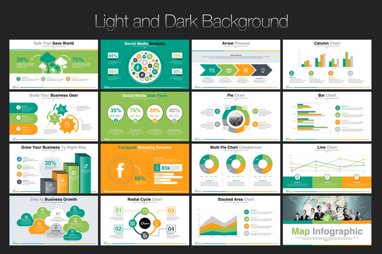 Startup Business Presentation Powerpoint Template 67446