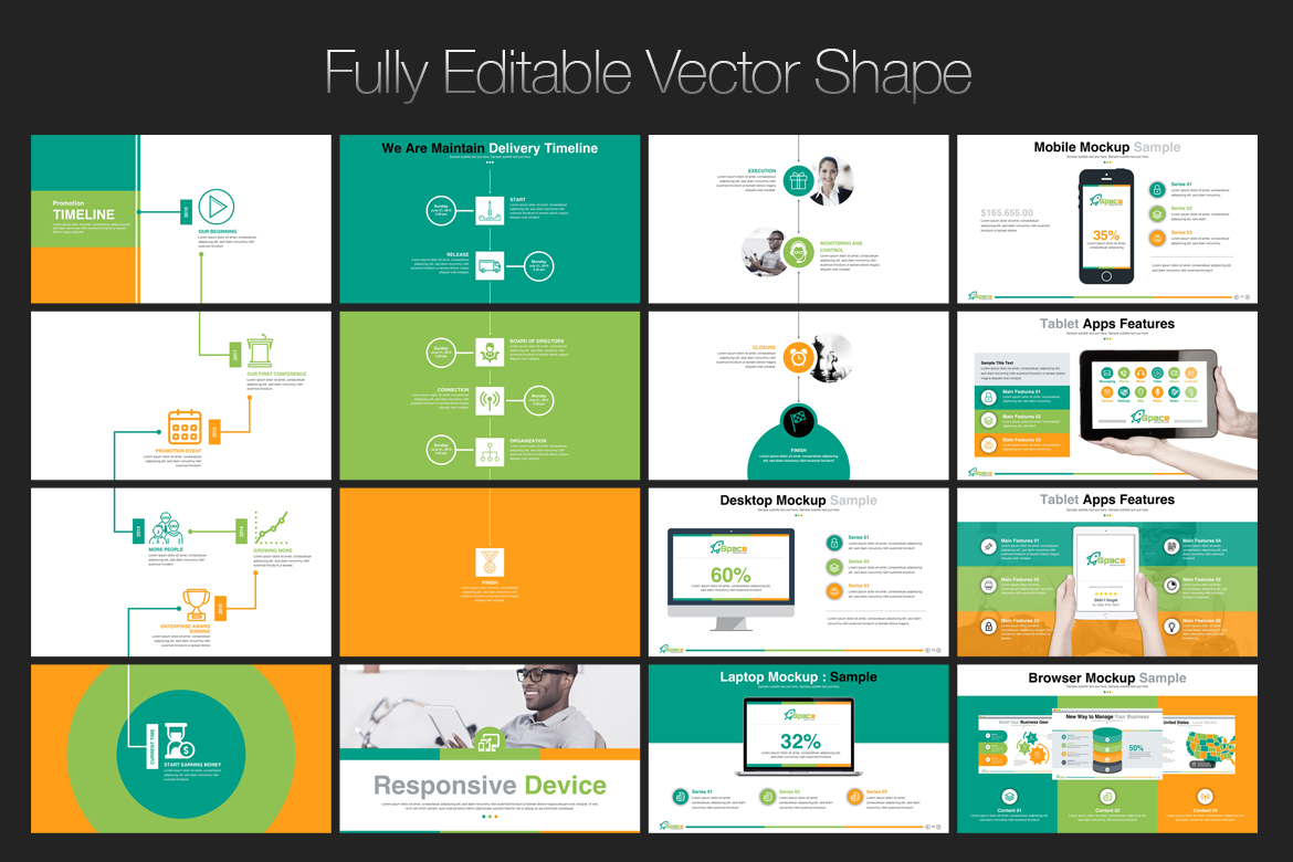 Startup business presentation powerpoint template 67446 zoom in toneelgroepblik Choice Image