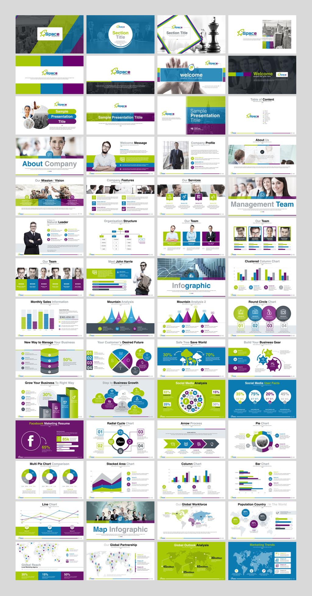 startup business presentation & startup pitch deck - keynote, Presentation templates