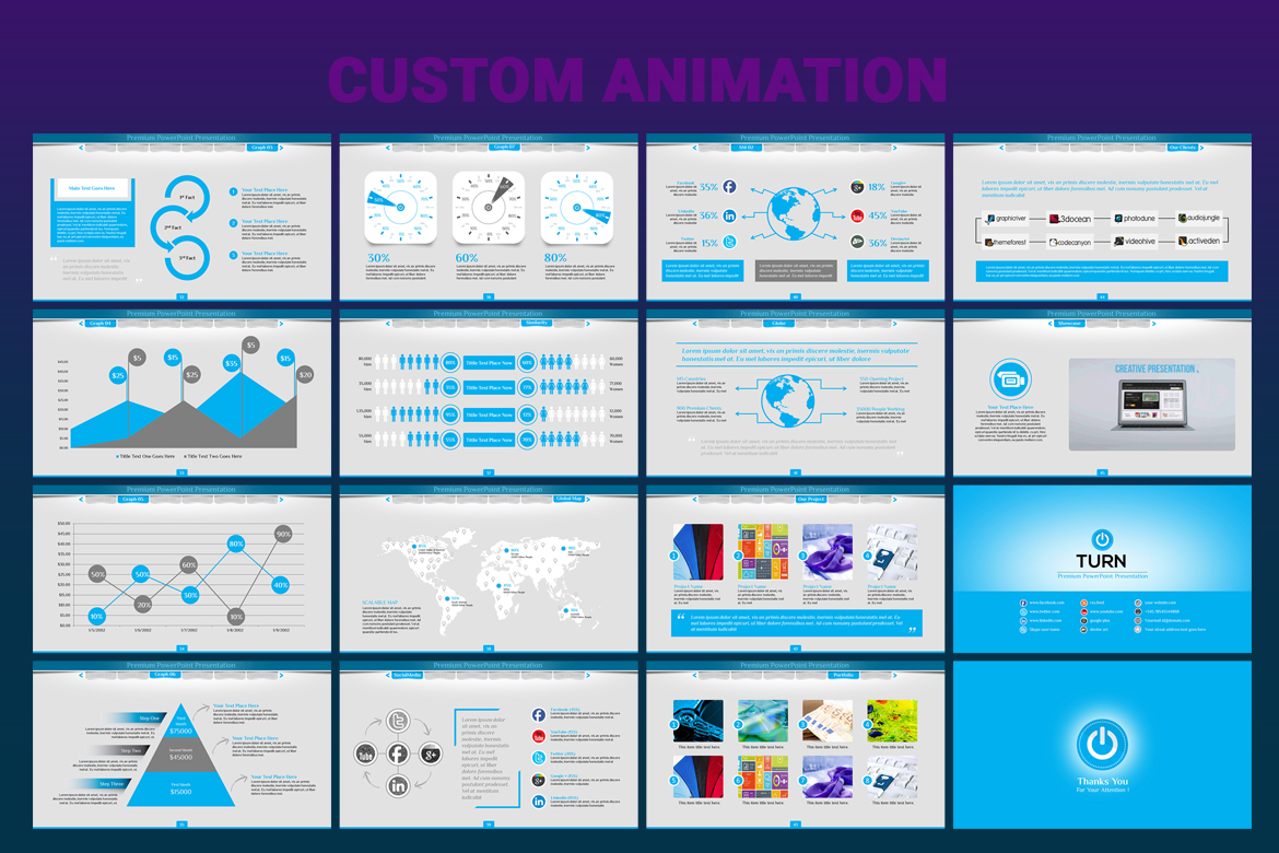 Animated business powerpoint template 66991 animated business powerpoint template big screenshot wajeb Gallery