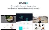 "PSD Vorlage namens ""Litmus - Clean & Creative Multipurpose"""