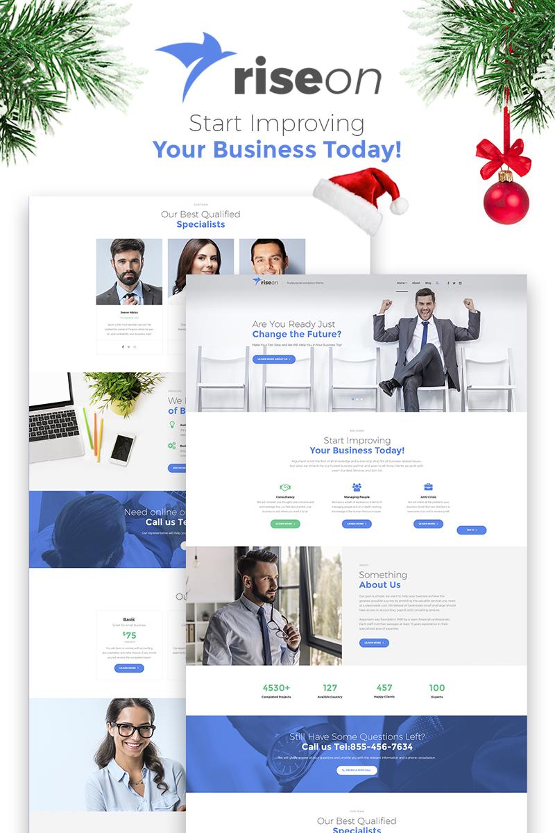 Адаптивный шаблон №66323 на тему бизнес и услуги, консалтинг