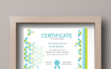 Triangles IT Certificate Template