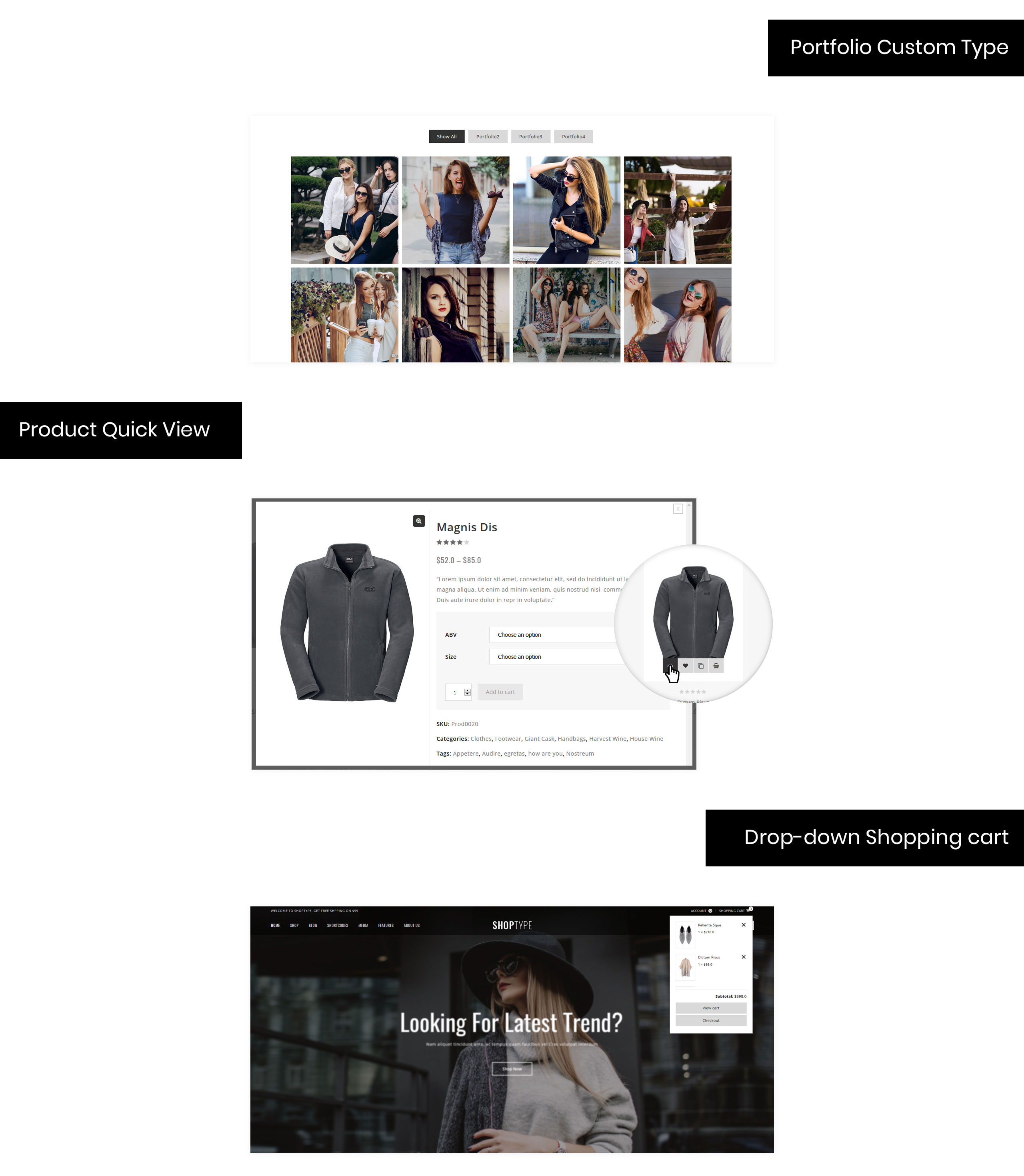 ShopType - Fashion Store WooCommerce Theme