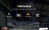 """Fabricator - Industrial Company Elementor"" WordPress thema"