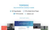 """TopDog - Multipurpose"" 响应式Joomla模板"