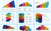3D Business Bundle | 35+ Vector AI, EPS Handmade Realistic Infographic Set | Instant Download | Digital File Infographic Elements Screenshot Grade