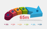 3D Arrow - Elementos Infograficos №74536