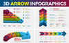 3D Arrow - Elementos Infograficos №74536 Screenshot Grade