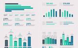 Большой бандл элементов инфографики