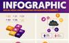 Elementos de infografía para Sitio de Gráficos Captura de Pantalla Grande