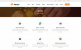 Paxlar - Bitcoin Crypto Currency PSD Template