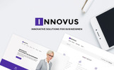 Reszponzív Innovus - Business WordPress sablon