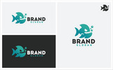 Logo template over Graphics