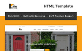 """Real Estate Resposive Bootstrap"" Responsive Website template"