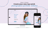 """Flashing - Photographer Portfolio"" Responsive WordPress thema"