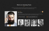 Stylist - Hair Salon Bootstrap Html Website Template