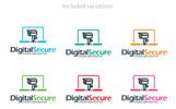 Digital Security | Security Camera | WebCam Logo Template