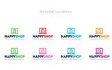Online Shopping | E-Commerce Shop Logo Template