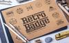 Retro Badge Logoset Template Big Screenshot