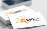 SEO Search Engine Optimization Agency or Company Eyeglass Design Logo Template
