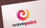 Paint Brush Color - Logo Template