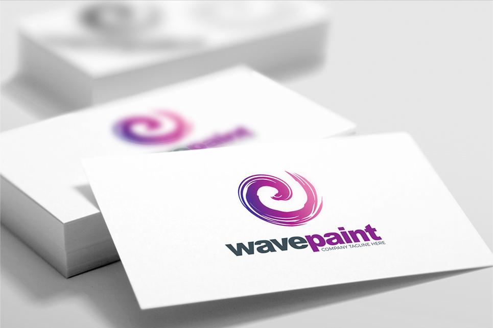 Paint Brush Color Logo Template - Logo layout templates