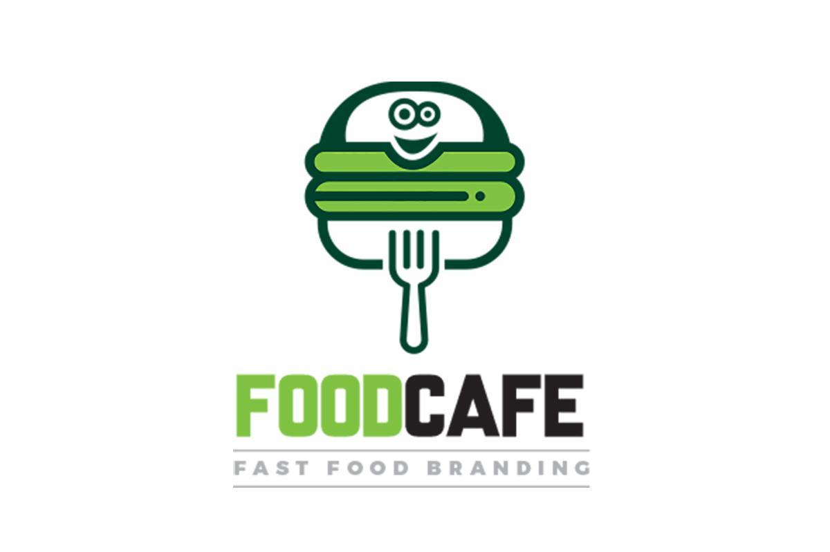 Fast food restaurant logo template