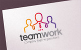 People Teamwork - Logo Template
