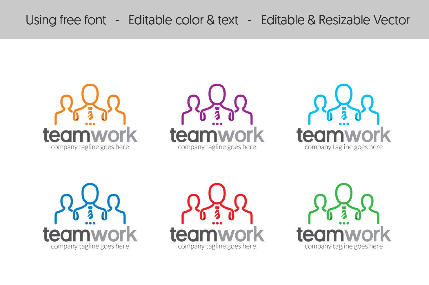 People Teamwork - Logo Template #67211