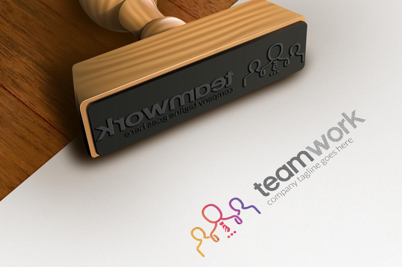 People Teamwork - Logo Template #67211