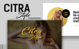 Citra Style Creative Presentation Template PowerPoint №66489