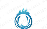 Ring of the Phoenix Logo Template