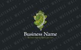 Fingerprint of Nature Logo Template