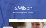 """Doctor Wilson -"" Responsive WordPress thema"