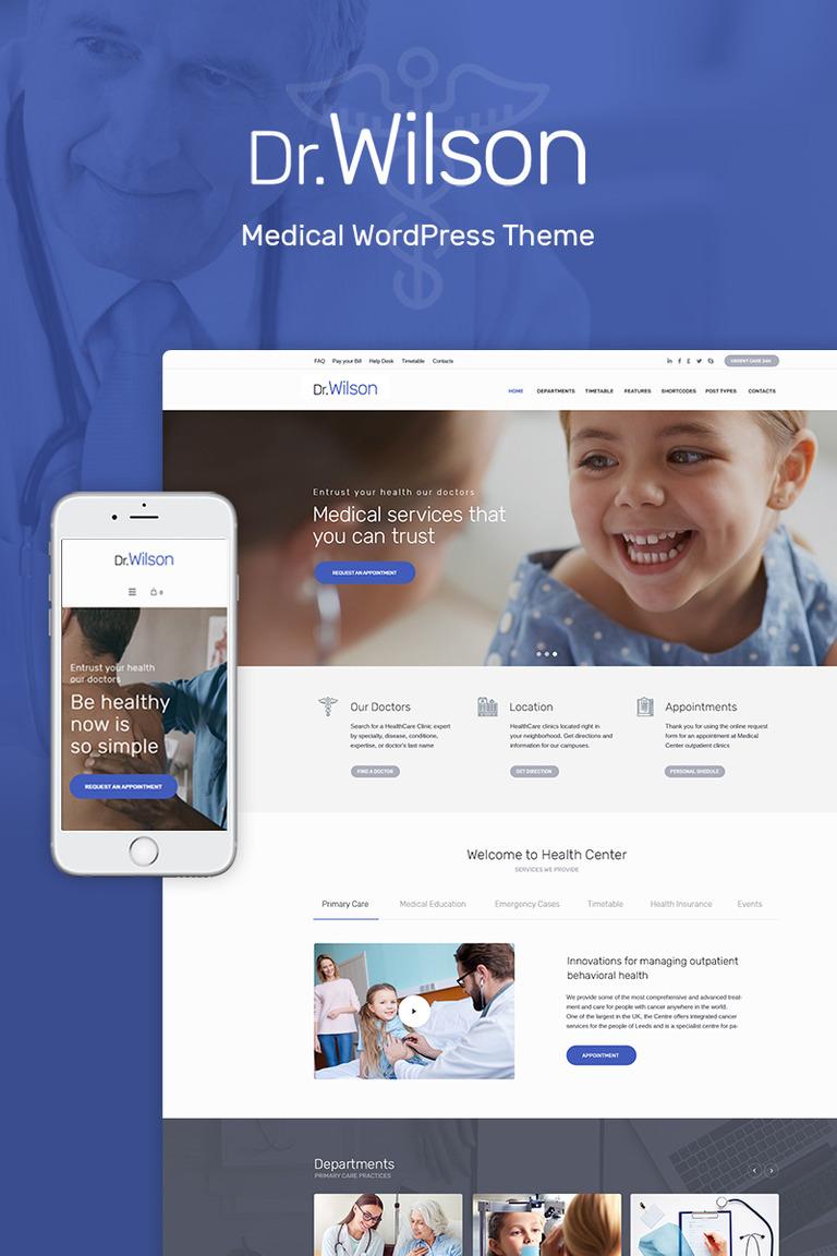 Doctor Wilson - WordPress Theme