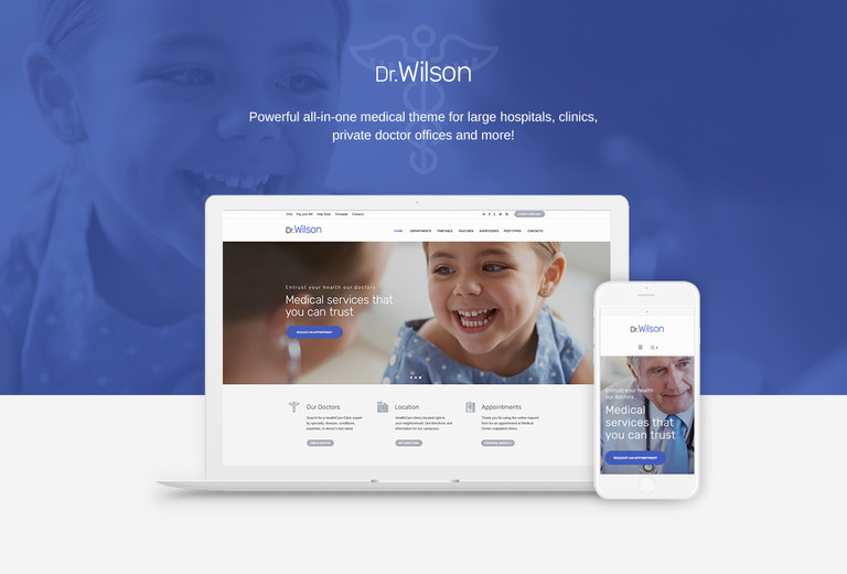 doctor wilson wordpress theme 69101