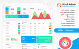 Strot Admin - Responsive Dashboard Admin Template