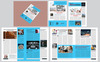 12 Page Company Newsletter Corporate Identity Template Big Screenshot